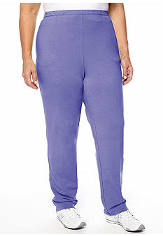 Ruby Rd Plus Size Pack A Punch Stretch Knit Pant