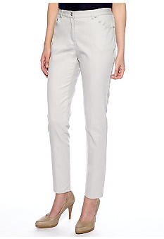 Ruby Rd Petite Sunshine State Colored Denim Side Elastic Jean - Regular Length