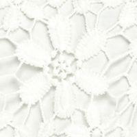 Ruby Rd Women Sale: Linen White Ruby Rd Blush Crush Daisy Lace Scallop Edge Top