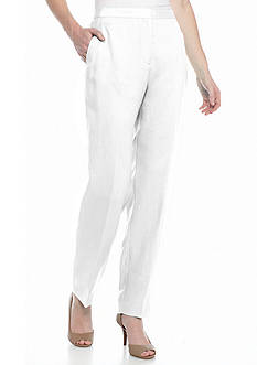 Ruby Rd Oasis Solid Linen Pants