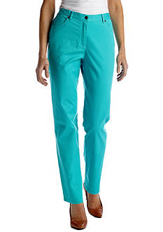 Ruby Rd Favorites Side Elastic Twill Pant