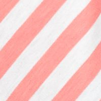 Women: Ruby Rd Tops: Shrimp Multi Ruby Rd Must Haves Striped French Terry Tee