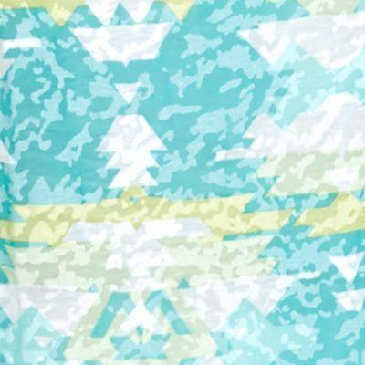 Ruby Rd Women's Plus Sale: Aqua Multi Ruby Rd Plus Size Must Haves Aztec Burnout Tie Front Top