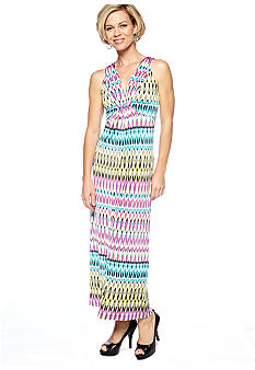 Ruby Rd Petite Tropical Paradise Maxi Dress