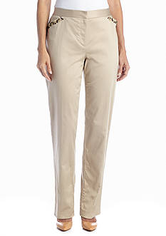 Ruby Rd Wild Style Embellished Pocket Pant