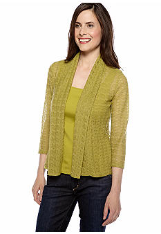 Ruby Rd Petite Favorite Shawl Collar Sweater