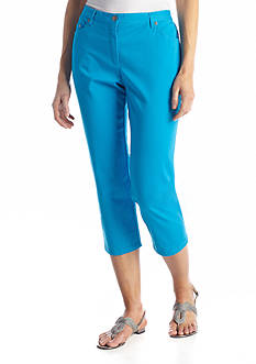 Ruby Rd Favorites Twill Capri