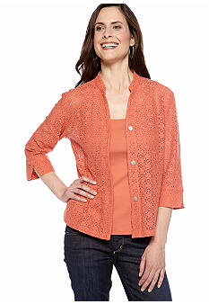 Ruby Rd Favorite Lace Shirt