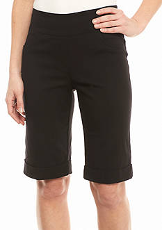 Ruby Rd To A Tee Solid Millennium Tech Shorts