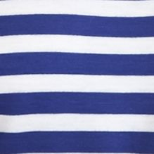 Ruby Rd Women Sale: Lagoon/White Ruby Rd Jungle Gym Striped French Terry Top
