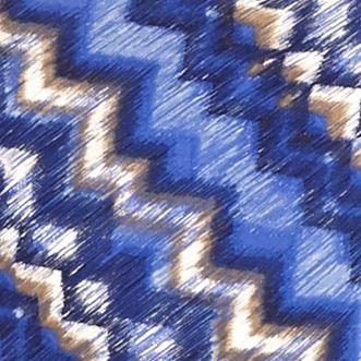 Women: Ruby Rd Tops: Lapis Ruby Rd Blanket Statement Embellished Asymmetrical Side Slit Top