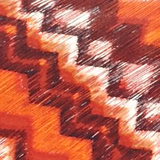 Women: Ruby Rd Tops: Cinnabar Ruby Rd Blanket Statement Embellished Asymmetrical Side Slit Top