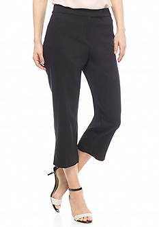 Ruby Rd Petite Modern Tribe Stretch Capris
