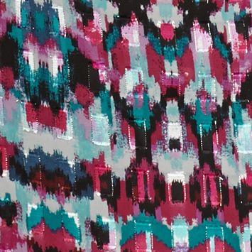 Ruby Rd Women Sale: Punch Multi Ruby Rd Prints Please Metallic Jacquard Tunic Top