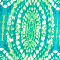 Womens St. Patricks Day Shirts: Teal Multi Ruby Rd Must Haves Embellished Border Printed Top