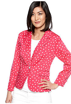 Live a Little Polka Dot Blazer