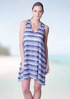 Jordan Taylor V Neck A-Line Dress Cover Up