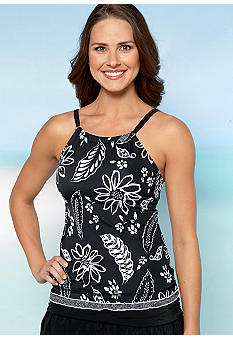 24th and Ocean Paradise Cove High Neck Tankini