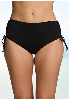 24th and Ocean Adjustable Side High Waist Swim Bottom