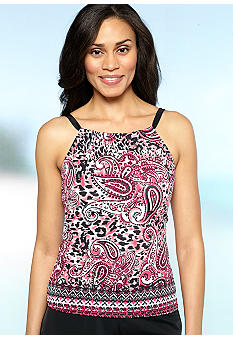 24th and Ocean Some Summer High Neck Tankini