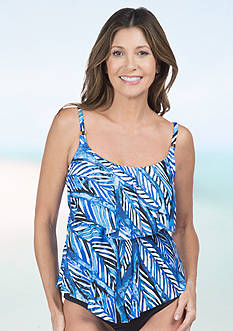 24th and Ocean Palms Away Tiered Tankini