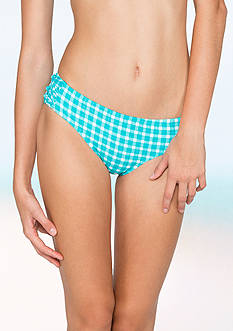 Coco Rave Gingham Knotted Side Hipster