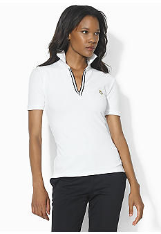 Lauren Active Pique Short Sleeve Polo
