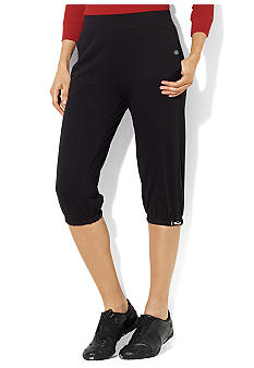 Lauren Active Cropped French Terry Athletic Pant
