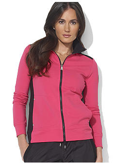 Lauren Active Color-Blocked Mockneck Jacket