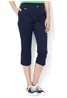 Lauren Active Stretch Twill Capri