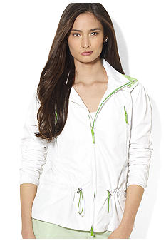 Lauren Active Hooded Nylon Jacket
