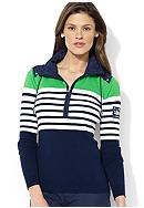 Lauren Active Half-Zip Cotton Pullover