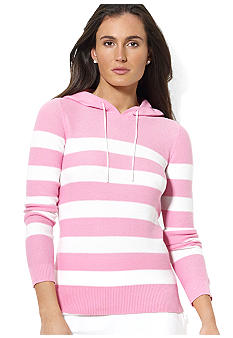 Lauren Active Striped Cotton Hoodie