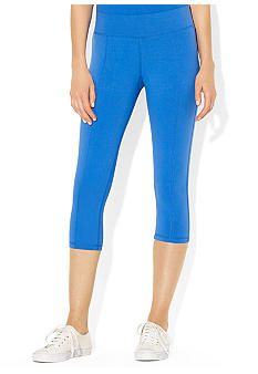Lauren Active Stretch-Cotton Cropped Legging