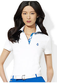 Lauren Active Collared Split-Neck Polo