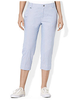 Lauren Active Stretch Cotton Mid-Calf Pant