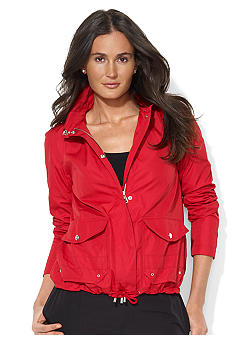Lauren Active Full-Zip Microfiber Jacket