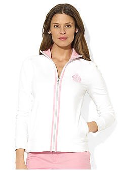 Lauren Active Mockneck Cotton Jacket