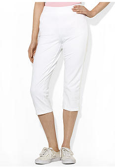 Lauren Active Cropped Cotton Pant
