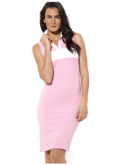 Lauren Active Sleeveless Mockneck Dress