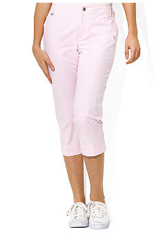 Lauren Active Checked Mid-Calf Pant