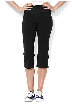 Lauren Active Stretch Cotton Cropped Pant<br>