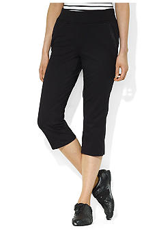 Lauren Active Stretch Cotton Crop Pant