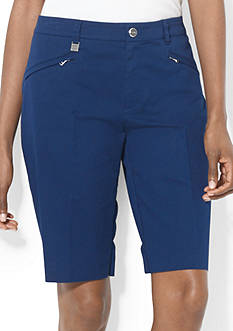 Lauren Active Stretch-Cotton-Twill Short