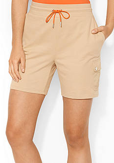 Lauren Active French Terry Cargo Short