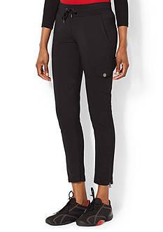 Lauren Active Stretch-Cotton Straight Pant