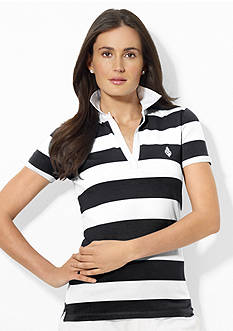 Lauren Active Striped Polo Shirt