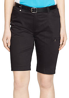 Lauren Active Stretch-Cotton Short