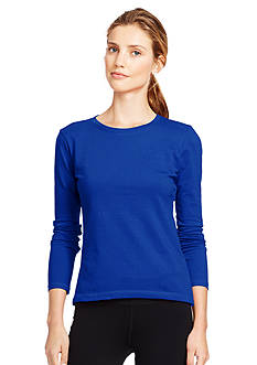 Lauren Active Long-Sleeved Pique Shirt