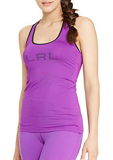 Lauren Active Colorblocked Jersey Tank